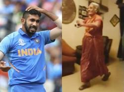Old Lady In India Imitating Jasprit Bumrah Bowling Goes Viral