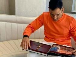 Dhoni Saffron Color T Shirt Makes New Controversy
