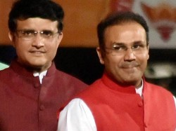Virender Sehwag Wishes Former Captain Sourav Ganguly On His Birthday
