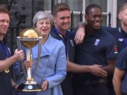 Icc World Cup 2019 Jofra Archer Video With Britain Pm Becom