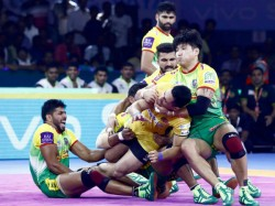 Pro Kabaddi League 2019 Telugu Titans Lost To Patna Pirates As Gujarat Beat Up Yoddha