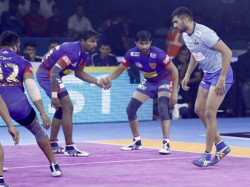 Pro Kabaddi League 2019 Dabang Delhi Beats Tamil Thalaivas By Just One Point