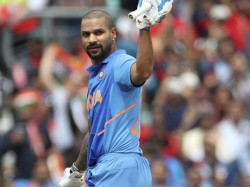 Shikar Dhawan Available For West Indies Tour Says Sources