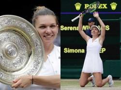 Wimbledon Tennis Simona Beats Serena Williams And Win Wimbledon Title