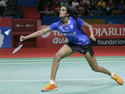 P V Sindhu Won Silver Medal In Indonesia Open 2019 Badminton