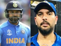 Cricket World Cup 2019 Yuvraj Singh Words Behind Rohit Sharma