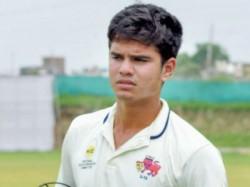 Arjun Tendulkar Selected In Mumbai Squad For Bapuna Cricket Series