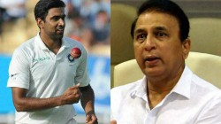 Ind Vs Wi 2019 Gavaskar Stunned After Ashwin Dropped In First Test