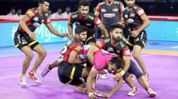 Pro Kabaddi League 2019 Bengaluru Bulls Vs Jaipur Pink Panthers League Match Result