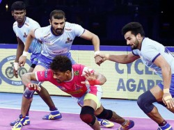 Pro Kabaddi League 2019 Tamil Thalaivas Vs Jaipur Pink Panthers Match Result