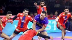 Pro Kabaddi League 2019 Dabang Delhi Vs Up Yoddha Match Result