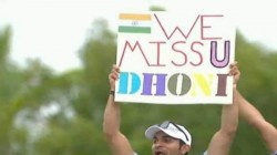 Dhoni Fans Enjoyed India West Indies Match In Florida