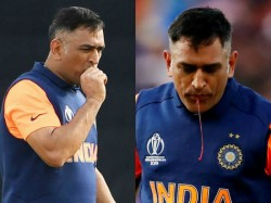 Dhoni Kept His Fracture As A Bud Secret During World Cup Series