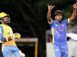 Dindigul Dragons Defeated Madurai Panthers And Enters In To Final In Tnpl Series