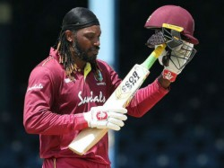Ind Vs Wi 2019 Chris Gayle Wearing New Jersey With A New Milestone Number