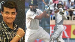 Ind Vs Wi 2019 Ganguly Gave An Idea To Keep Both Rahane And Rohit Sharma In Playing Xi