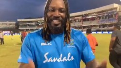 Gayle Denies Retire From Cricket Through A Video