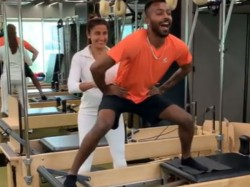 Hardik Pandya In Gym To Make Him Strength Video Goes Viral