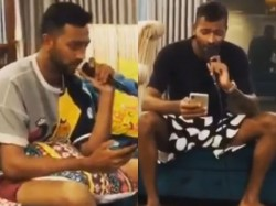Indian Cricket Players Hardik And Krunal Pandya Sung Kolaveri Song