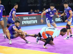 Pro Kabaddi League 2019 Haryana Steelers Beat Bengal Warriors In Close Contest