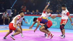Pkl 2019 Haryana Steelers Beat Up Yoddha Guajrat Fortunegiants Lost To Bengal Warriors