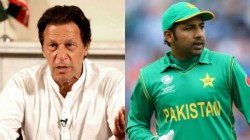 Pakistan Pm Imran Khan Publicly Thrash Captain Sarfraz Ahmed For Toss Decision