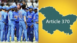 Article 370 Gone Sporting Stars Welcomed Government Decision