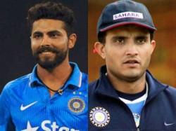 Ind Vs Wi 2019 Ganguly Praises Jadeja For His Efforts Even After Not A Regular Player