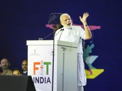 Pm Narendra Modi Launches Fit India Movement On National Sports Day