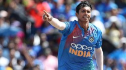 Ind Vs Wi Navdeep Saini Got A Demerit Point On His First Wicket In T