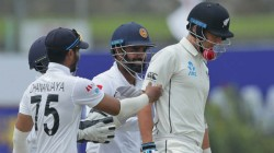 Srilanka Trail By 22 Runs Against Newzealand In Galle Test