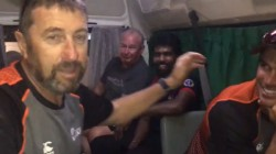 Newzealand Cricket Players Bus Got Repaired In Hill Area Srilanka