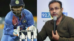 Virender Sehwag Advice S Young Player Rishabh Pant To Play A Good Cricket