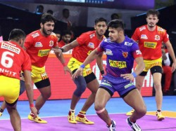 Pkl 2019 Telugu Titans Vs Up Yoddha U Mumba Vs Gujarat Fortunegiants Match Results