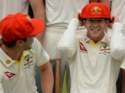Players Wearing Red Cap In Ashes Series 2nd Test