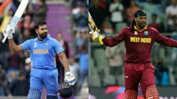 Ind Vs Wi 2019 Rohit Sharma Chris Gayle Share Common Jersey Number