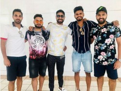 Rohit Sharma Photo With Young Players In Florida Goes Viral