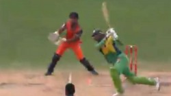 Shoaib Malik Andre Russell Hit Sixes And Broke Glasses In Global T