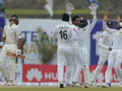 Sri Lanka Vs New Zealand First Test Galle Match Result And Highlights
