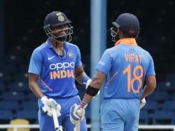 Ind Vs Wi 2019 Virat Kohli Talked About Dhawan Rohit Batting Failure After Match