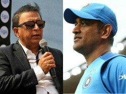 Sunil Gavaskar Breaks Silence On Dhoni Retirement With A Mindblowing Opinion