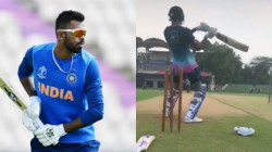 Young Indian Player Hardik Pandya In Practices Seriously For Upcoming South Africa Series