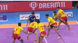 Pro Kabaddi League 2019 Haryana Steelers Vs Gujarat Fortunegiants 114th Match Result