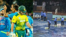 Ind Vs Sa Fans Trolling Rain Affected India South Africa First0 T20 Match