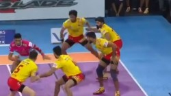 Pro Kabaddi League 2019 Jaipur Pink Panthers Vs Gujarat Fortunegiants 100th Match Result