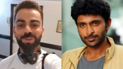Skipper Kohli Send Video Message To Famous Tamil Actor Son