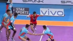 Pro Kabaddi League 2019 Up Yoddha Vs Bengal Warriors 69th Match Result