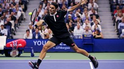 Grigor Dimitrov Shocks Roger Federer In Us Open Quarter Finals