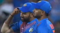 Ind Vs Sa Rohit Sharma Got Angry With Navdeep Saini During 3rd T20 In A Viral Video