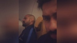 Ind Vs Sa Rohit Sharma Filmed Dhawan Secretly While He Was Reciting Poetry